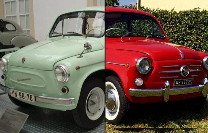 Cоветские автомобили, которые оказались невероятно похожи на иностранные модели