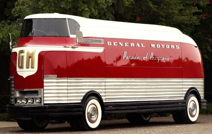 GM Futurliner - футуристический автобус из прошлого.