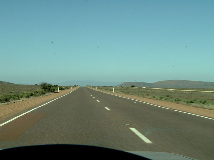 Самая скучная дорога в мире.