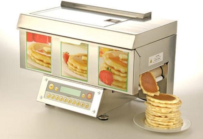 Современная кухня: машина для выпечки блинов CHEFSTACK.