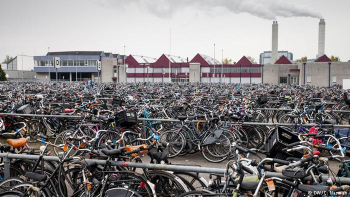 Кладбище потерянных велосипедов.