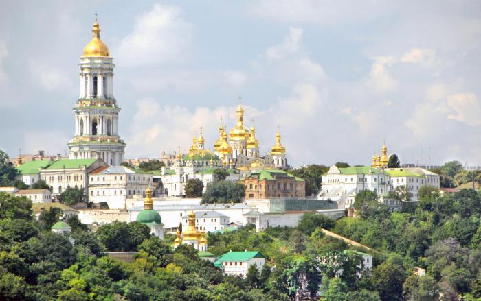Панорама Киево-Печерской лавры.