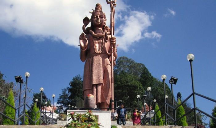 Самая-самая высокая в мире статуя Шивы.