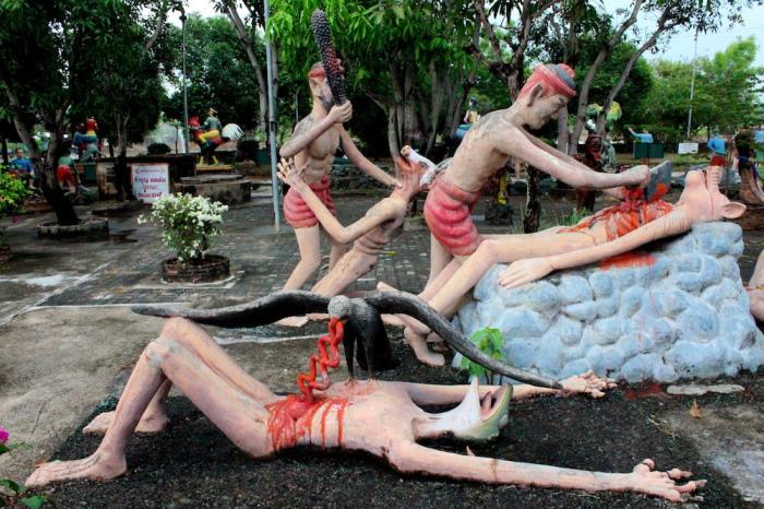 Ван Саен Сук: буддийский ад