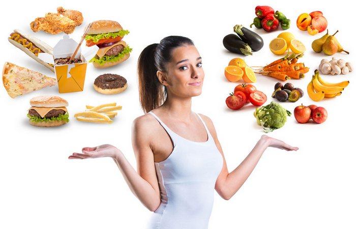 Здоровый образ жизни: планировать питание.