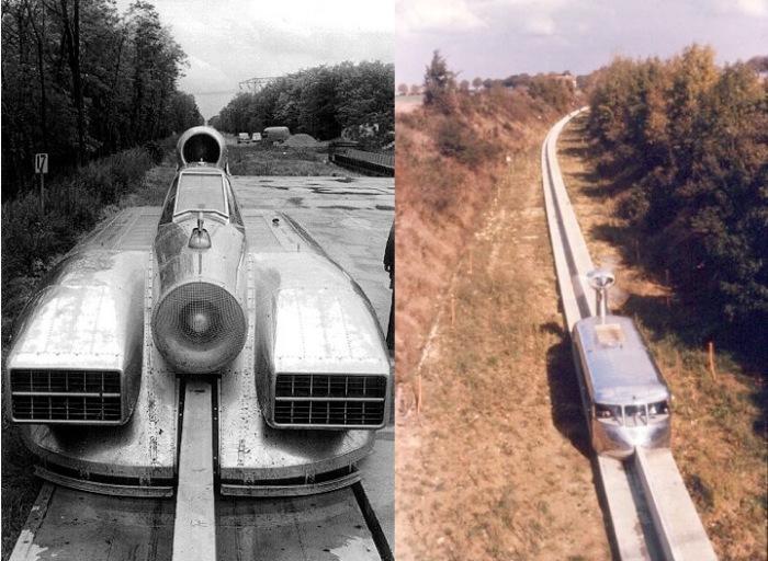 Поезд, который так и остался проектом.