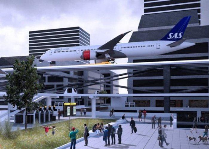 Аэропорт будущего.