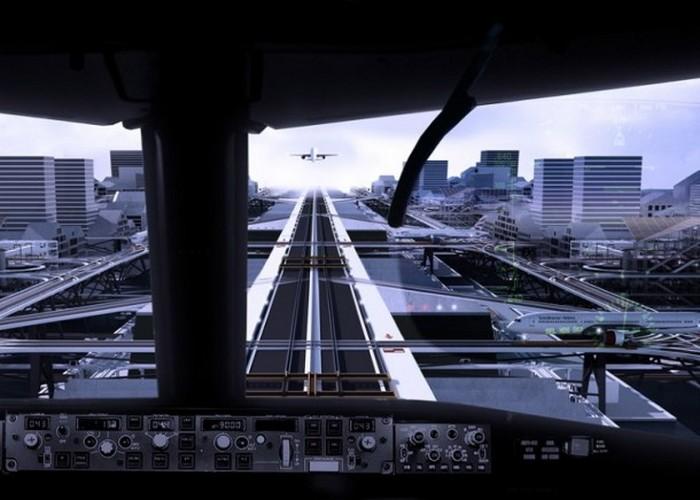 Невероятный аэропорт будущего.
