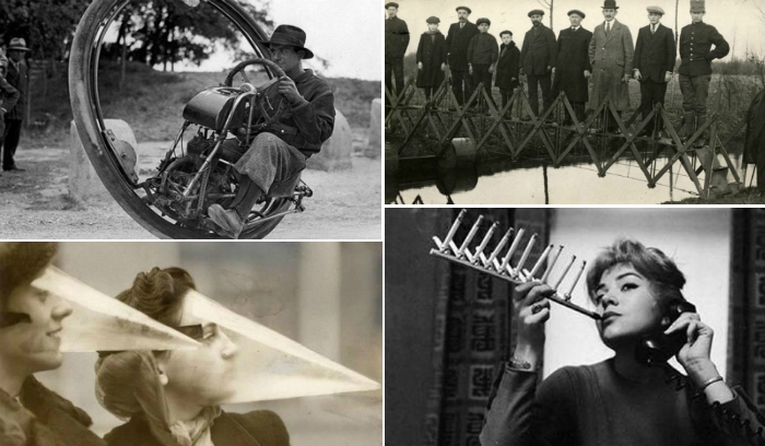 Самые нелепые изобретения прошлого.