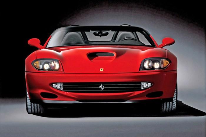 Амфибия от Ferrari.