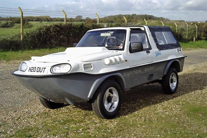 Автомобиль-амфибия Dutton Surf.