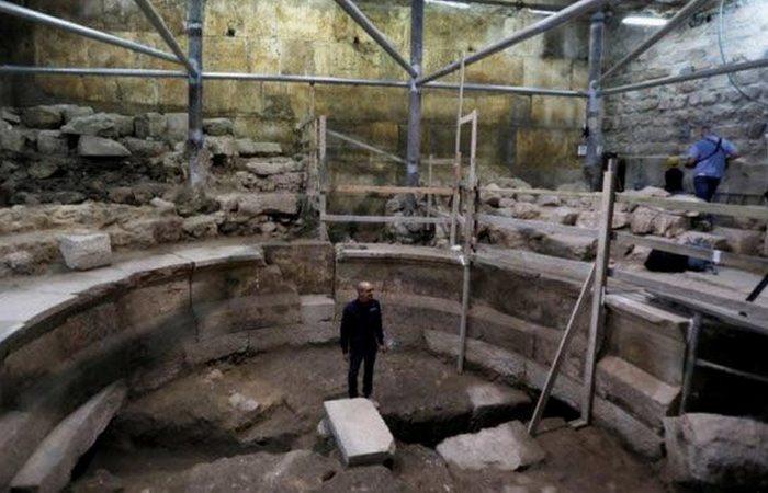 Древняя конструкция: театр под стенами Иерусалима.