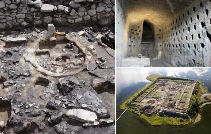 Таинственные археологические памятники.