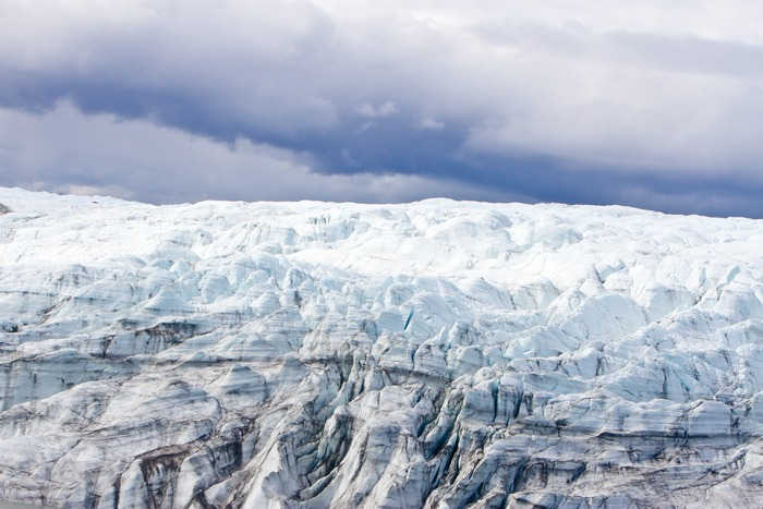 Древняя тундра в Гренландии.