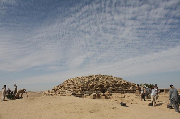 Провинциальные пирамиды в Египте.