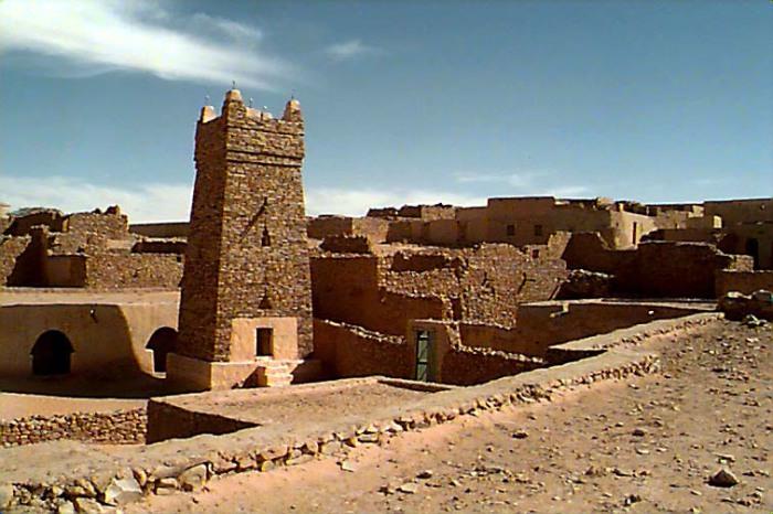 Шингетти - древний мегаполис.