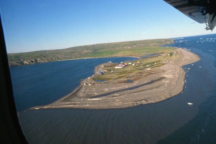 Хершел - заброшенный остров в Канаде.