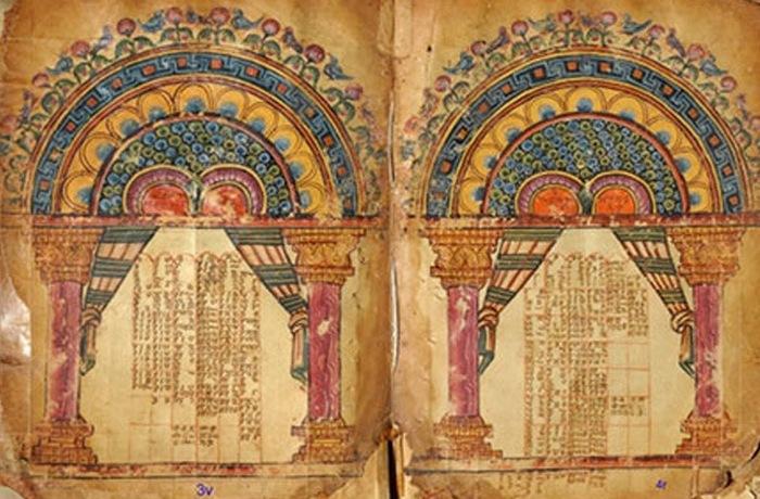 Самая ранняя христианская иллюстрированная рукопись.