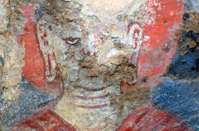 Самая старая картина, написанная масляными красками.