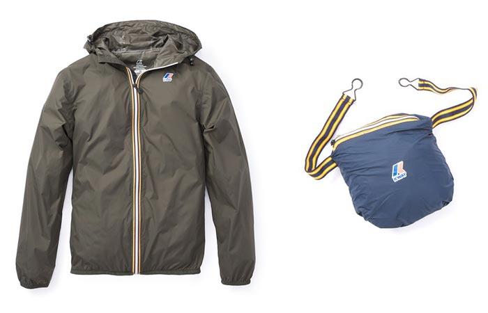 Осенняя куртка K-Way Claude 3.0.