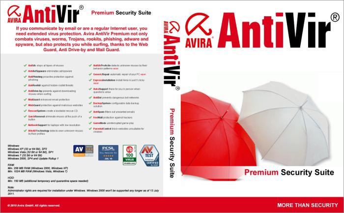 Avira AntiVir - даже для неопытных пользователей.