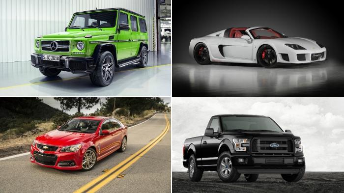 Самые олдскульные автомобили.