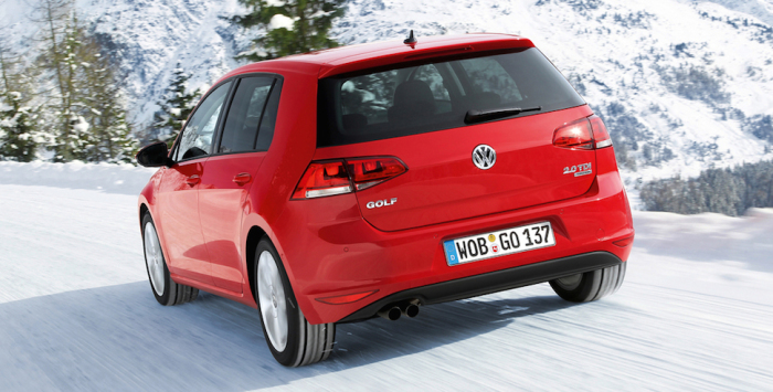 Volkswagen Golf TDI.
