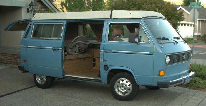 Volkswagen Vanagon Westfalia.