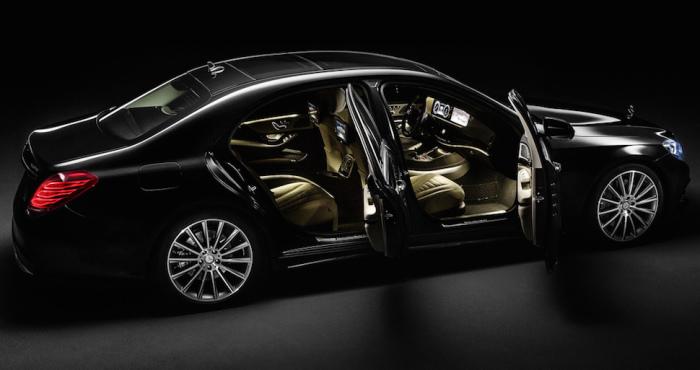 Mercedes S-Class.