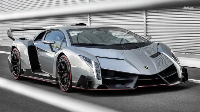 Спортивный автомобиль Lamborghini Veneno.