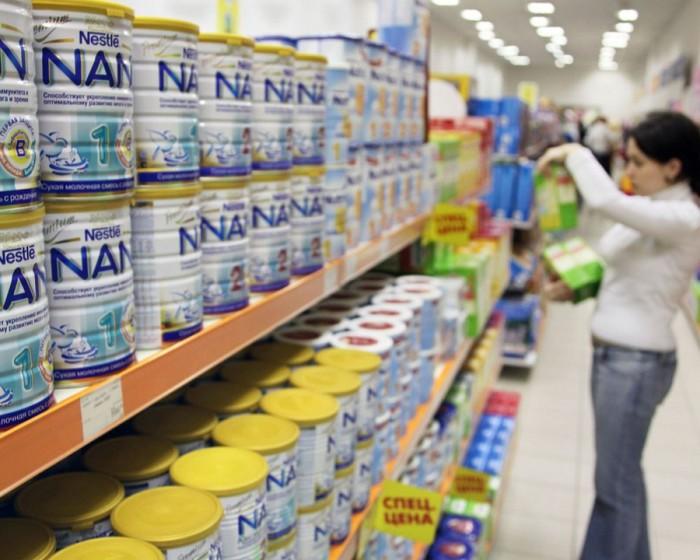 Nestle агрессивно продвигала детские смеси.