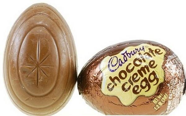Cadbury уменьшила размер шоколада Creme Eggs.