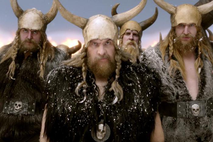 Острый язык горячих исландских парней.