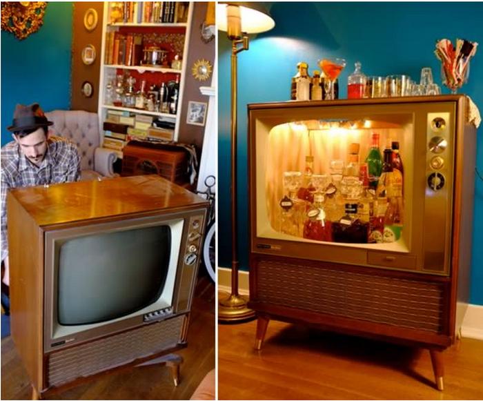 Телевизор-бар.