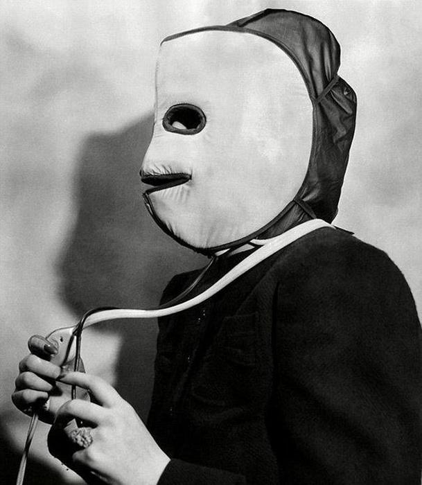 Согревающая маска для лица.