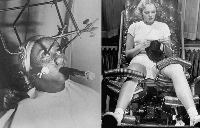 Пугающие аппараты из кабинета косметолога прошлого века