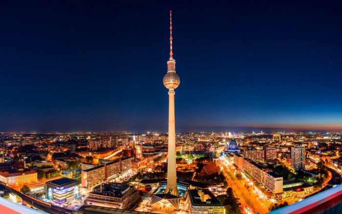 Берлин - город зелёных технологий.