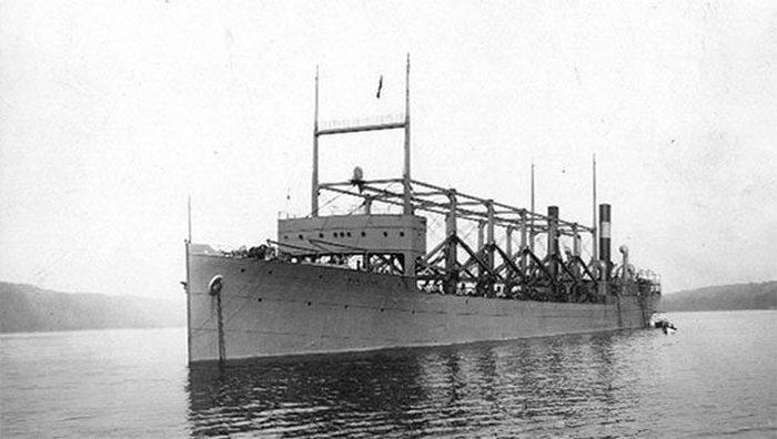 Бермудский треугольник: судно USS Cyclops.