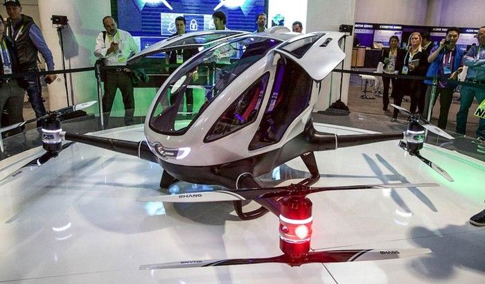 Летающая альтернатива современным авто.