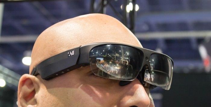 Новые умные очки Google Glass.