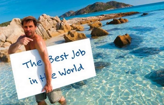 Лучшая работа в мире.