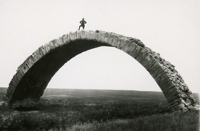 Римская арка в Ираке.