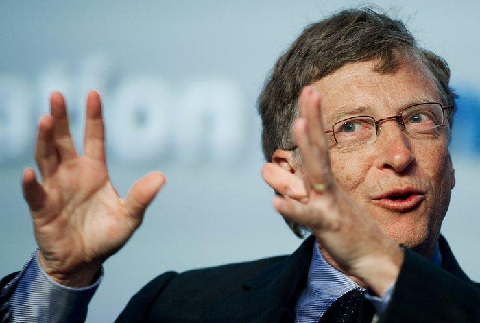 Билл Гейтс - один из миллиардеров Microsoft.