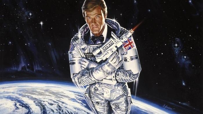 Джейсм Бонд в космосе.