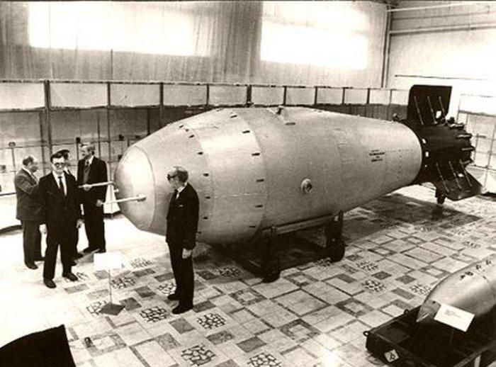 Советская царь-бомба.