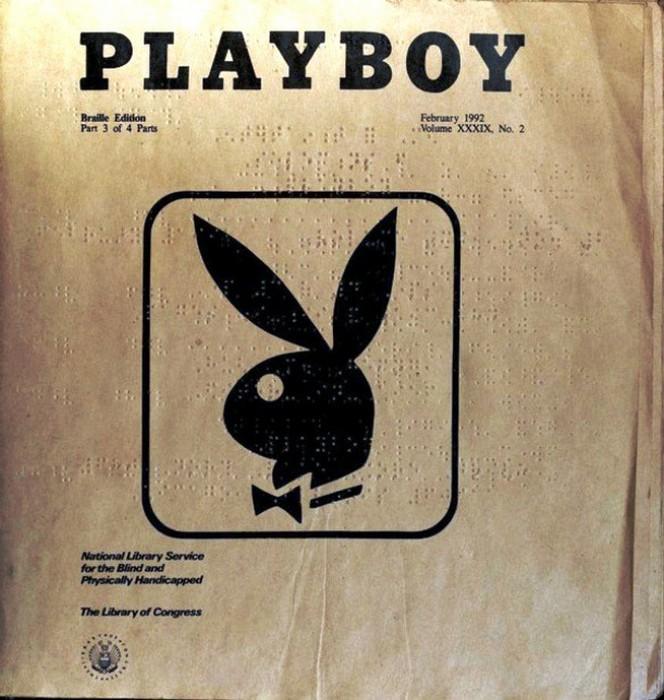 Журнал Playboy.