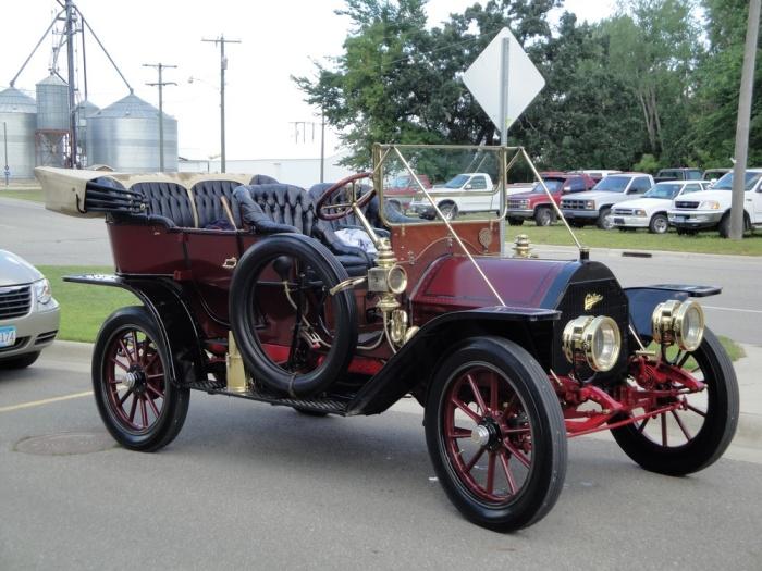Cadillac Model 30 Touring после реставрации.