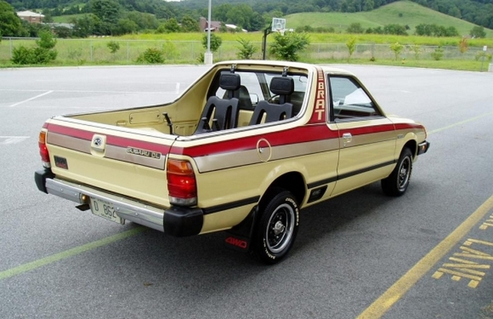 Subaru Brat - идеальное авто для выпивох.