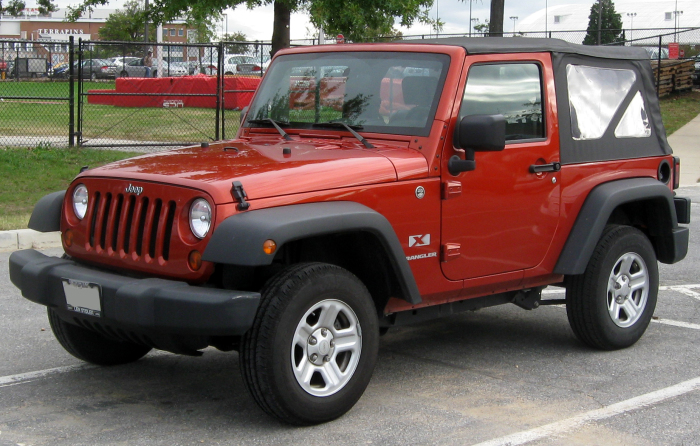 Jeep Wrangler - ����, ������� ����� ���� �� ������.