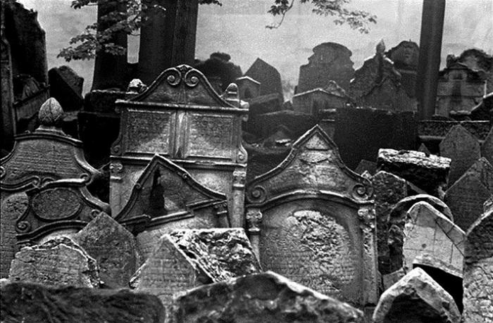 Старое еврейское кладбище (Прага, Чехия).